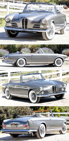 BMW 503 Cabriolet, 1957, by Bertone. One of only 18 convertible 503s with coachwork by Bertone