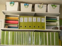 The Diary of a Teachaholic: getting organized! --- a bit obsessive, but still do-able...even for high school teachers.  Units can be organized as they are being taught.