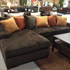 Ashley Chocolate corduroy sectional sofa. Starting at only $899! | Yelp : ashley corduroy sectional sofa - Sectionals, Sofas & Couches