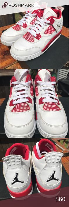 Jordan 4 FireReds Jordan 4 FireReds Price is negotiable! Air Jordan Shoes Sneakers