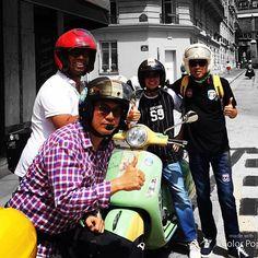 Ride'n'Smile: vespa scooter tour paris