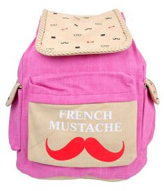 Super Drool Mustache Backpack