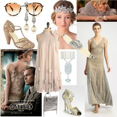 the great gatsby movie 2013 fashion-Style