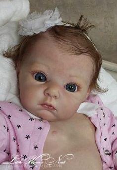 "Beautiful Reborn Baby Girl Doll ""Lola"" ~ Adrie Stoete ~ Limited Edition by Noginsk Elektrostal"