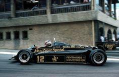 Nigel Mansell Lotus 91 4º Monaco 1982
