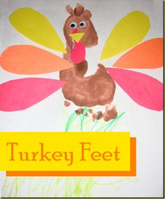 footprint turkey craft