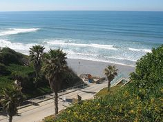 Fletcher Cove- Solana Beach, CA,  Here's another spot I lived just steps from, but this time I knew how special that was.