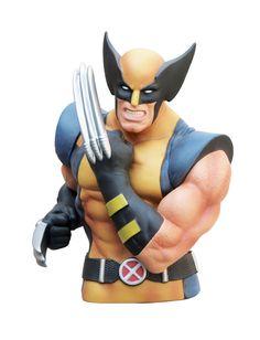 Marvel Comics Spardose Wolverine 20 cm  Marvel Comics Spardosen - Hadesflamme - Merchandise - Onlineshop für alles was das (Fan) Herz begehrt!
