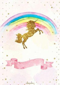 Las imágenes con Unicornios han sido de las más pedidas últimamente, parece ser que ha renacido entre los dibujos preferidos, la imagen de esta criatura mitológica, que hace que muchas niñas prefie…