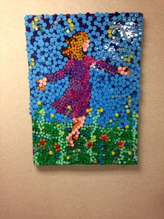My doctor  created this.  Girl chasing a butterfly.