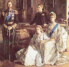 British Royal Family 1913