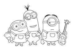 11 Best Ausmalbilder Minions Images Coloring Pages Colouring
