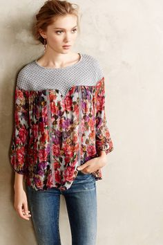Theodosia Blouse - anthropologie.com