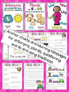 Absolutely love these! CHIT CHAT MORNING MESSAGES 3 {ALIGNED WITH COMMON CORE} - TeachersPayTeachers.com