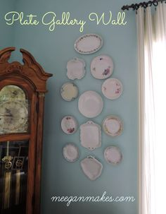 Easy Plate Gallery Wall