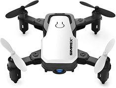 Amazon.com: SIMREX X300C Mini Drone RC Quadcopter Foldable Altitude Hold Headless RTF 360 Degree FPV Video WiFi 720P HD Camera 6-Axis Gyro 4CH 2.4Ghz Remote Control Super Easy Fly for Training(White): Automotive Remote Control Toys, Radio Control, Hd Camera, Wifi, Small Drones, Professional Camera, Drone Quadcopter, Wide Angle, Videos