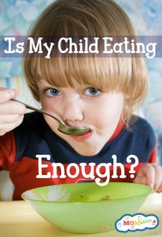 Is my child eating enough food via MOMables.com