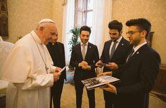 Il volo da Papa Francesco 6/05/2017