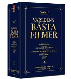 Världens bästa filmer - Boxset disc) (Import - No. Jena, Cannes, Personalized Items, Cover, Books, History, Libros, Book, Blanket