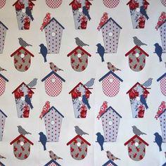 Thornbury - Seaside Blue - £11.50 per metre from Kids Fabrics Online Shop
