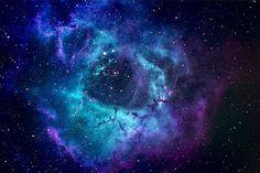 Blue and Purple Nebula HD (page 2) - Pics about space