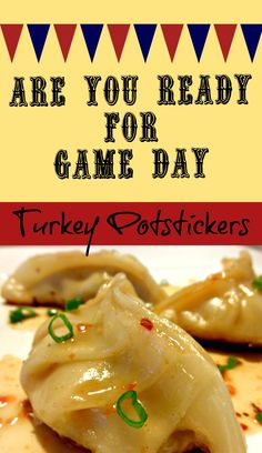 Turkey Potstickers Appetizers are great for game day or the Superbowl! Fried or Steamed Dumplings are also a fun date night meal