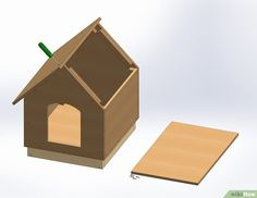 Diy Insulated Dog House Plans Luxury How to Build A Dog House with Wikihow Winter Dog House, Dog House With Porch, Wood Dog House, Build A Dog House, Dog House Plans, Dog Training Methods, Basic Dog Training, Dog Training Techniques, Training Your Puppy