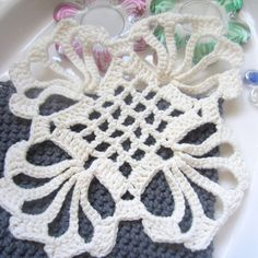 "Awesome web page with many many crochet motif diagrams. Minidečky – háčkované posbírané. I am so happy that I decided (years and years ago) to subscribe to a magazine called ""Magic Croc…"