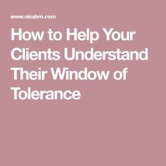 How to Help Your Clients Understand Their Window of Tolerance [Infographic] - NICABM Reading Body Language, Massage Benefits, Good Mental Health, Massage Therapy, Trauma, Psychology, Infographic, Stress, Healing