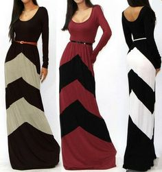 Long Panel Dress – SEKclothing