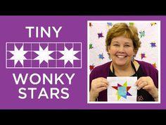 Tutorial - 101 Tiny Wonky Stars