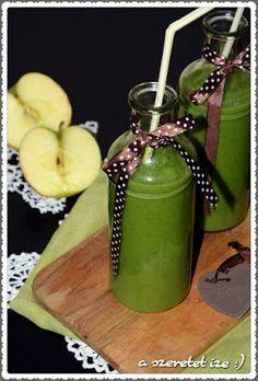 A szeretet íze: Zöld smoothie: