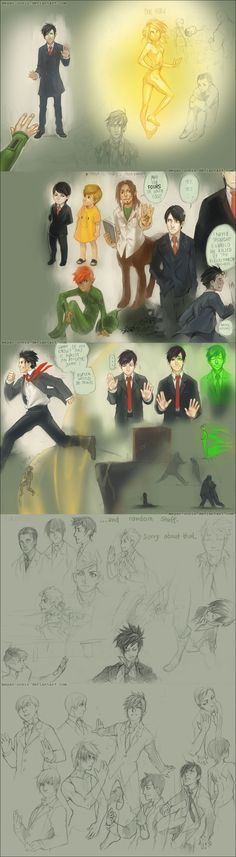.::AF LG: sketches SPOILERS::.. by *Megan-Uosiu on deviantART. WARNING! SERIOUS SPOILERS!!! I just might cry...