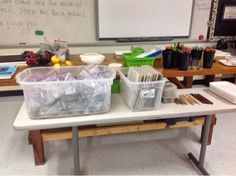 How to Organize for Clay -- My High School Art Room