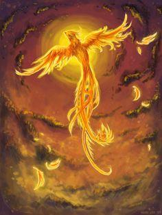 The Phoenix rises - artist?  (no link)