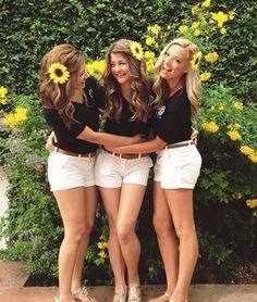 Sorority recruitment outfit ideas