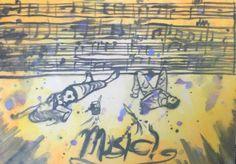 Breadth #4- rhythm & balance Watercolor.