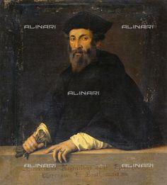Giovan Battista Moroni - Ritratto del vescovo Girolamo Argentino - Galleria Palatina a Palazzo Pitti a Firenze