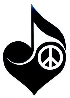 peace, love, and music- Would be a good tattoo