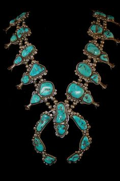 Magnificent Exquisite Navajo Kingman Turquoise by navajodreams