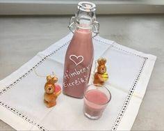 Himbeer-Eierlikör - Thermomix - Rezept von Thermiliscious Wine, Bottle, Drinks, Food, Night, Youtube, Shopping, Raspberry Liqueur, Eggnog Recipe