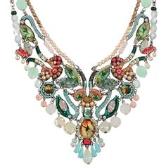 Ayala Bar Spring 2017 Alchemilla Garden Necklace ($515) ❤ liked on Polyvore featuring jewelry, necklaces, ayala bar necklace, ayala bar, ayala bar jewelry and ayala bar jewellery
