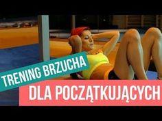TRENING NA PŁASKI BRZUCH - 10 MINUT / PROSTE ĆWICZENIA - YouTube Zumba, Health Fitness, Muscle, Yoga, Youtube, Workout, How To Plan, Sports, Exercises