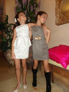 Beautiful and elegant kids fashion