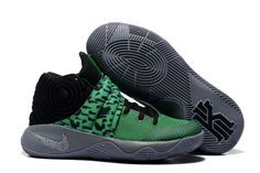 44786cc0cd86 Find Quality Nike Kyrie 2 Shoes Green Black Super Deals and more on  Pumarihanna.