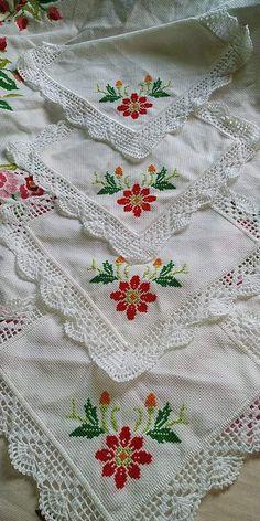 Crochet Boarders, Crochet Blanket Edging, Crochet Edging Patterns, Crochet Doilies, Crochet Flowers, Crochet Lace, Cross Stitch Designs, Cross Stitch Patterns, Crochet Monkey Pattern