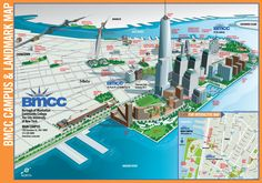 BMCC Campus 3D Map
