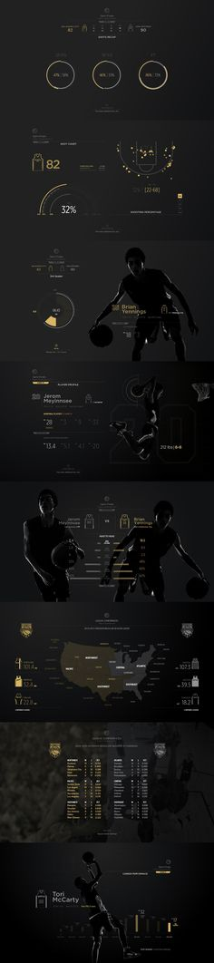 Sports Stats Infographic Pack | Vector Objects | Pixeden