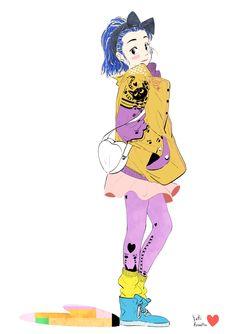 Yuki.Kawatsu  Illustration — 今日もお疲れ様でした_φ(・♡・  Happy Valentine day☆
