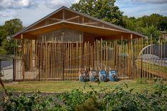 Education Center  / Elizabeth Eason Architecture LLC + UT College of Architecture and Design